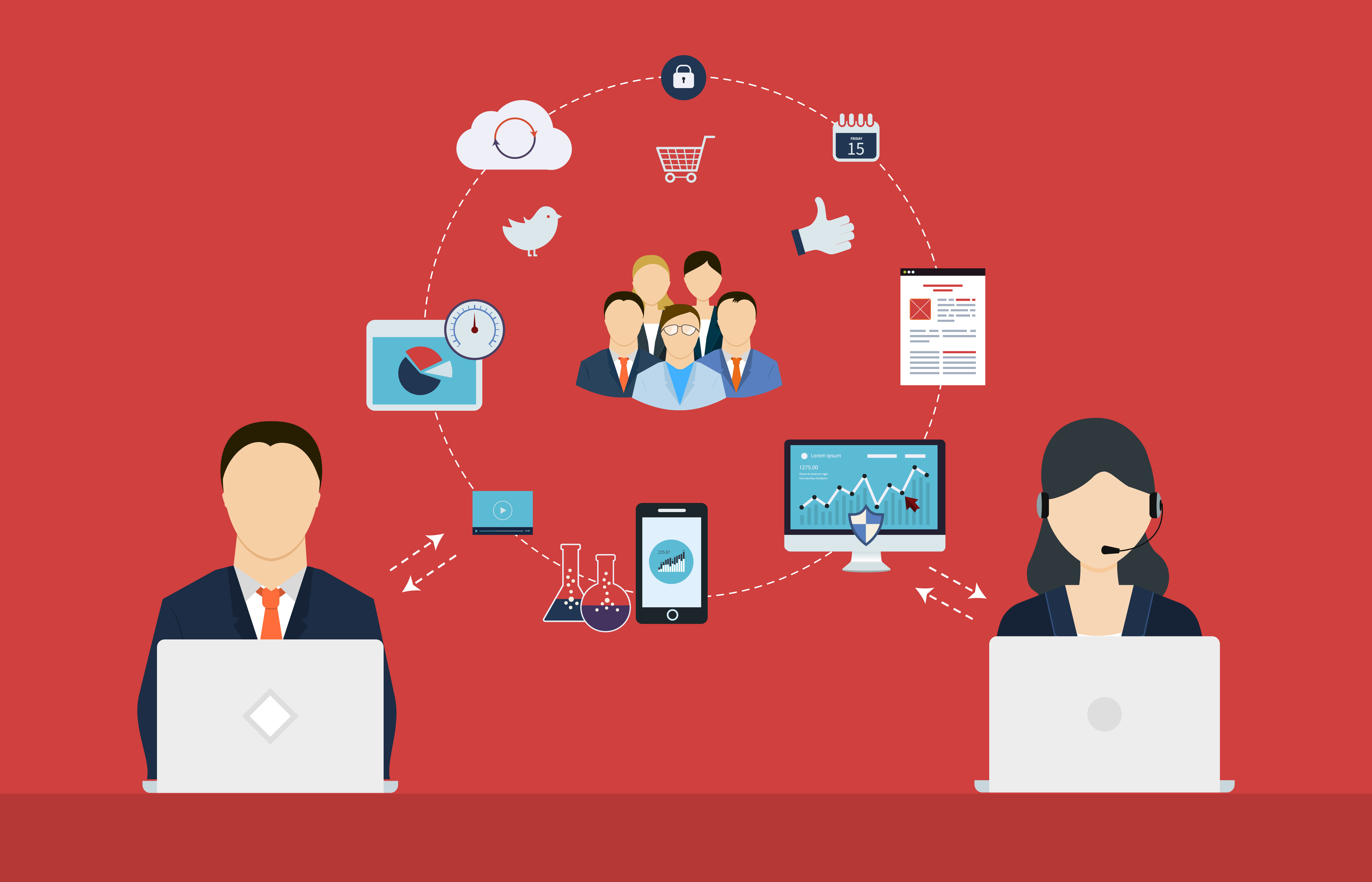 Découvrez les challenges des Directeurs de l'Expérience Client pour 2018 ! 1