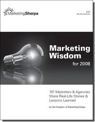 Livre gratuit de marketing : Marketing Wisdom 2008