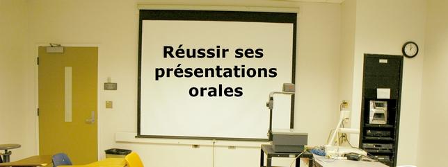 Réussir ses présentation orales