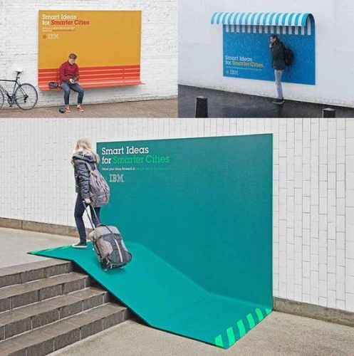 Plus de 100 pubs de Street Marketing créatives à prendre en exemple ! 71