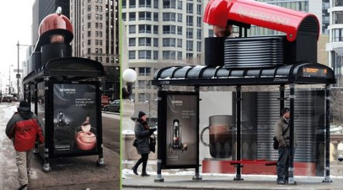 Plus de 100 pubs de Street Marketing créatives à prendre en exemple ! 85