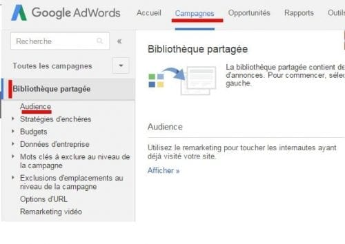 gogole adwords remarketing