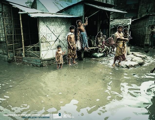 publicité humanitaire