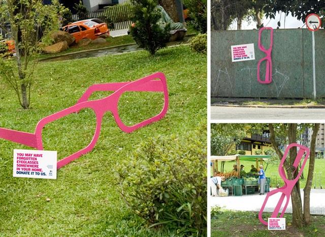 pub lunettes ONG