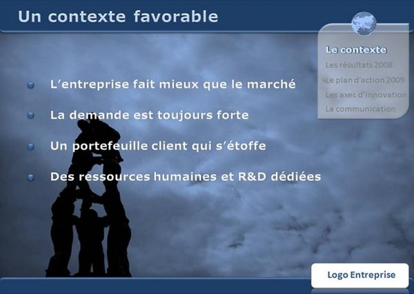 presentation-powerpoint-reussie