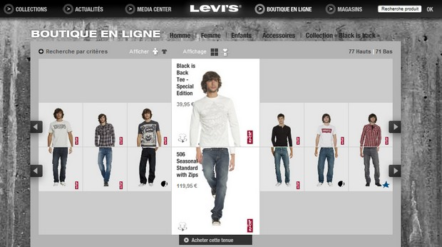 boutique levis
