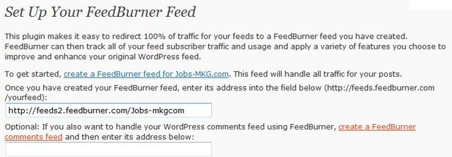flux rss wordpress