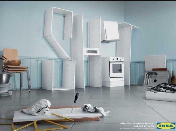La pub du jour : Des meubles de merde... [Ikea] 1