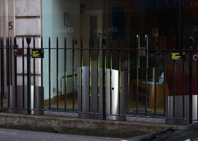 La pub du jour : Une pub holographique... [Amnesty] 2