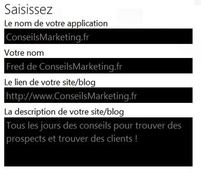application windows 7