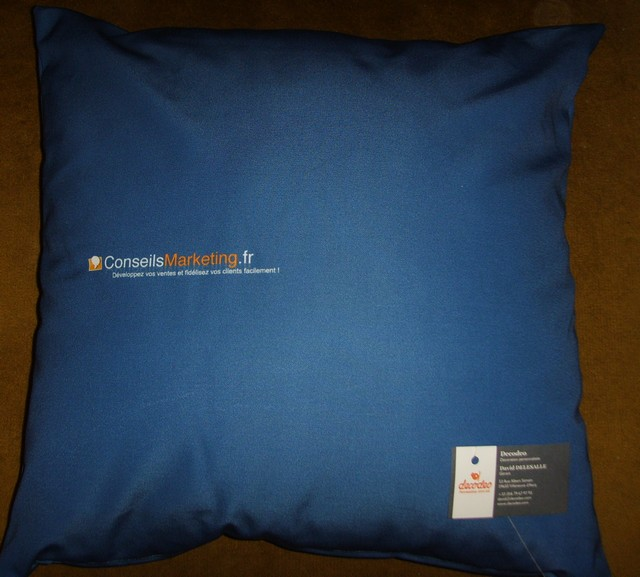 coussin marketing