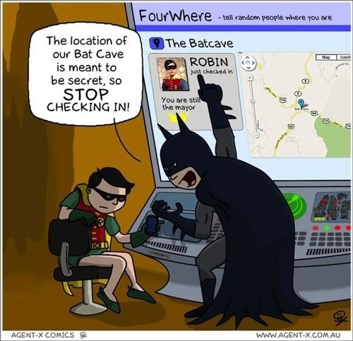 foursquare humour