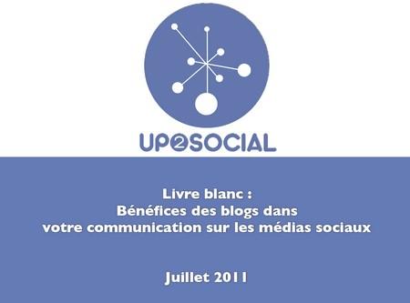 livre blanc media sociaux et blogging