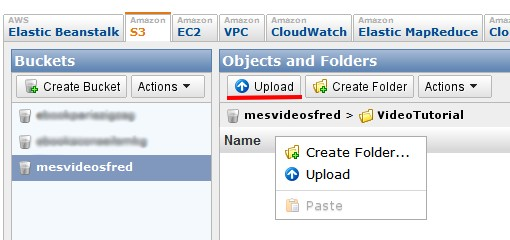 upload de fichiers