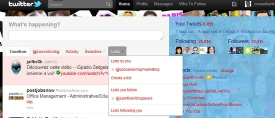 Twitter-list