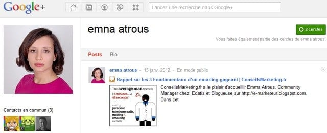 Interview de Community Manager : Emna Atrous d'Edatis 2