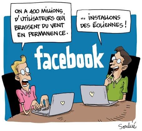 facebook et le web