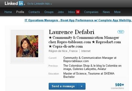 Interview Community Management - Laurence Defabri de Repro-tableaux.com 3