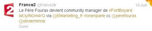 Tweet France 2 XF