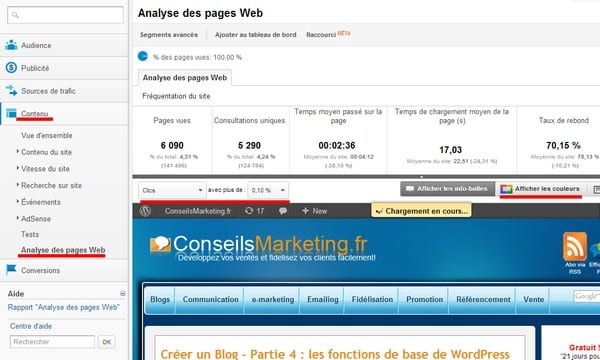 Optimiser Adsense avec Google Analytics – Walkcast Monétiser un Blog [Partie 6] 2