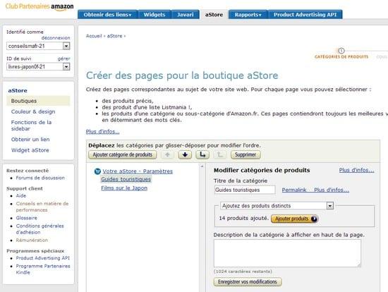 La boutique Amazon – Walkcast Monétiser un Blog [Partie 26] 2