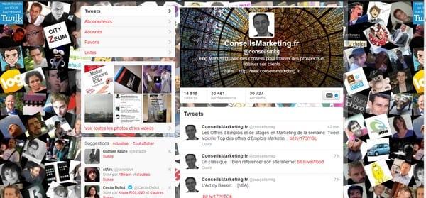 Fond écran et bandeau Twitter – Walkcast Twitter [Partie 25] 3