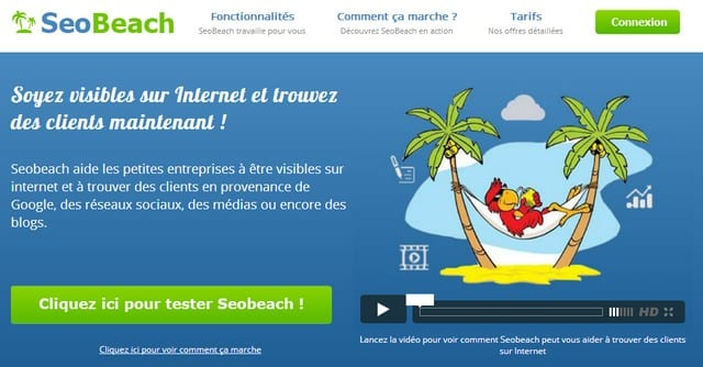SeoBeach.net, votre assistant marketing virtuel