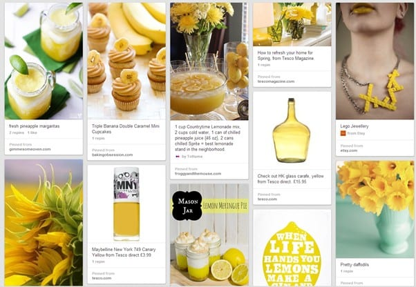 tesco pinterest