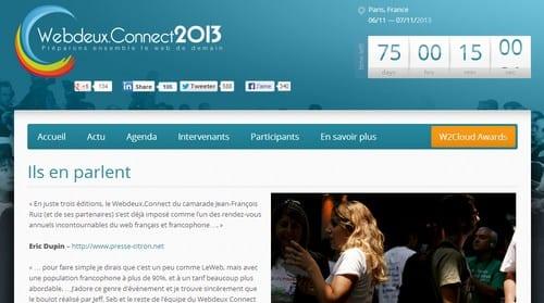 web connect 2013