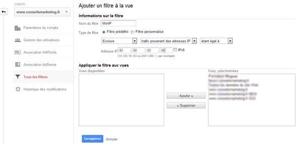 filtre IP