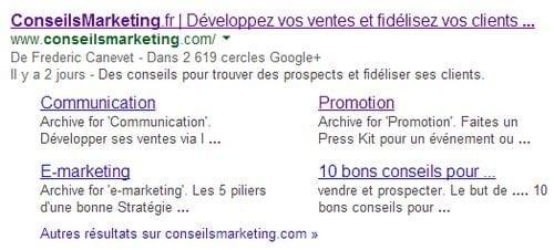google plus lien