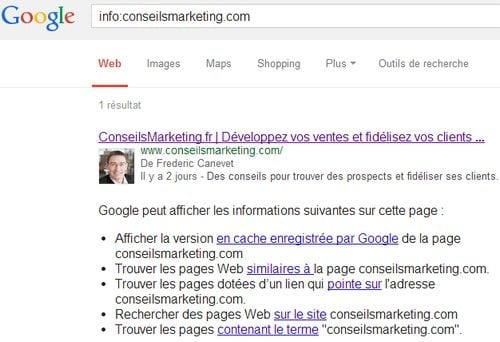 info site Google