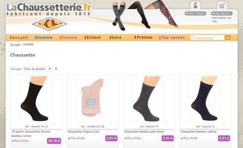 chaussettes pour les femmes