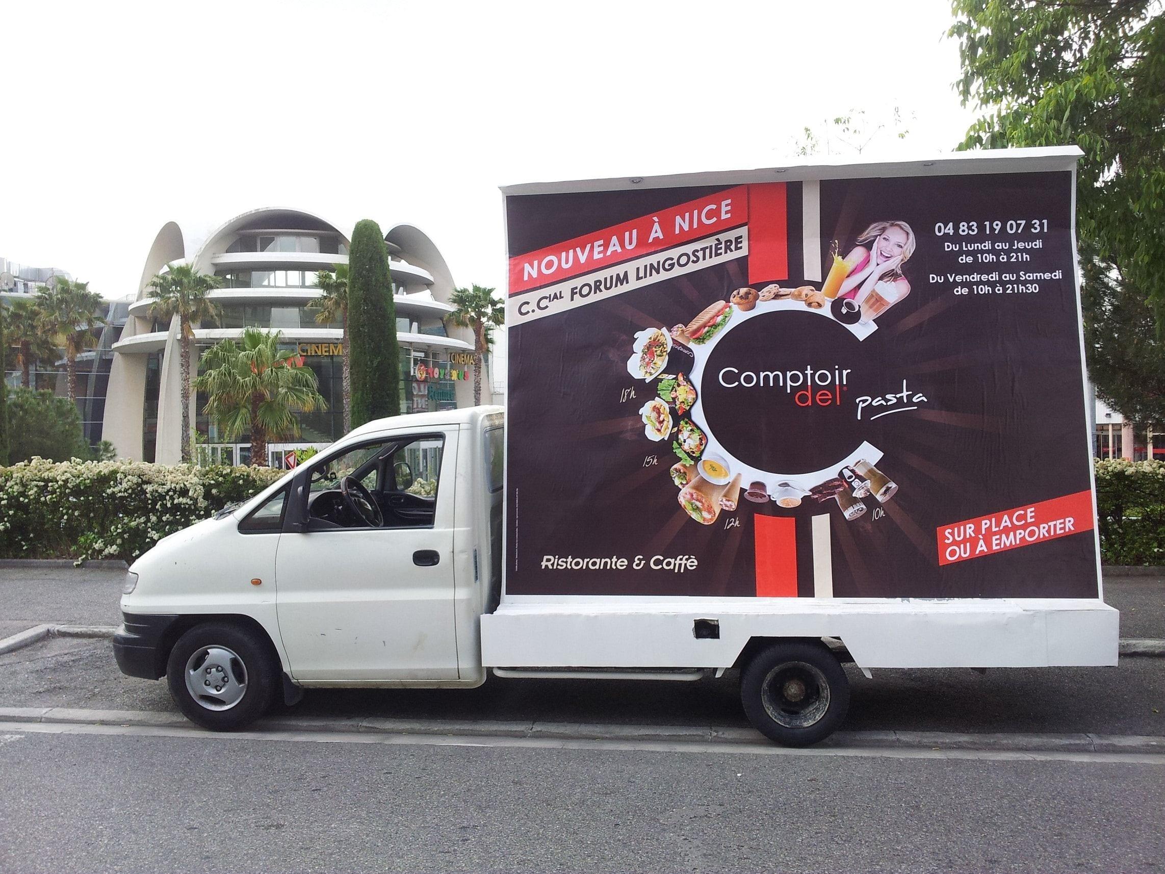 Camion publicitaire marseille aix en provence1 - Ne plus recevoir de coup de telephone publicitaire ...