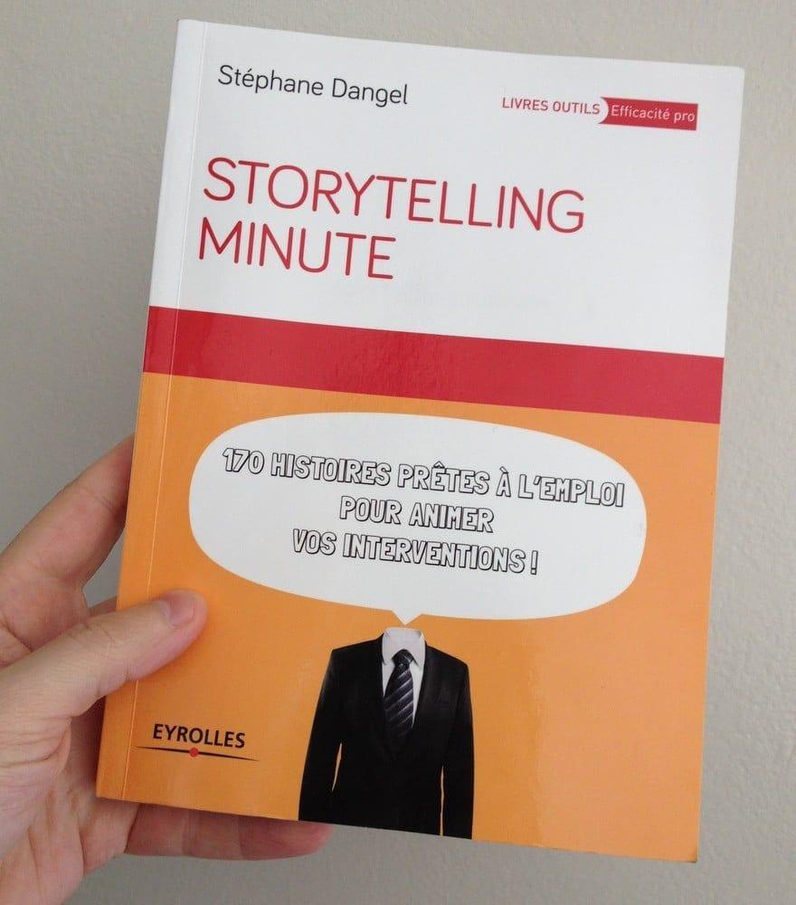"""Critique du livre """"Storytelling minute: 170 histoires prêtes à l'emploi pour animer vos interventions"""""""