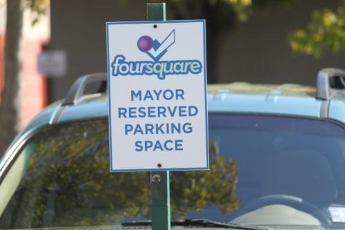 mayor-reserved-parking-space