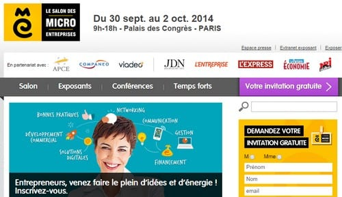 Comment r ussir sa participation un salon for Salon micro entreprise