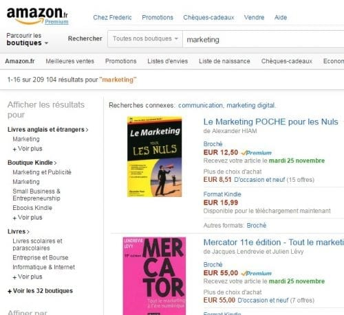 amazon markting