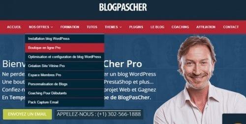 blog pas cher