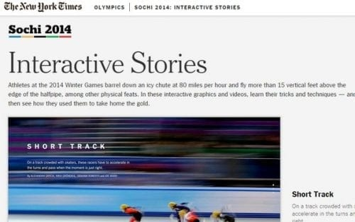story scrolling