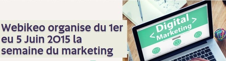 semaine du marketing