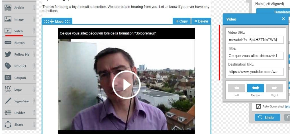 Trucs et Astuces eMailing – Cas pratique avec Aweber partie 2 3