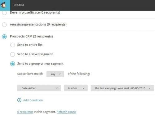 segmentation mailchimp