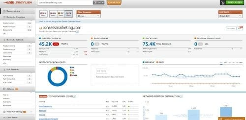 SEMrush analyse synthetique