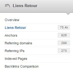 analyse detaillee des backlinks