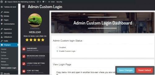 custom admin plugin