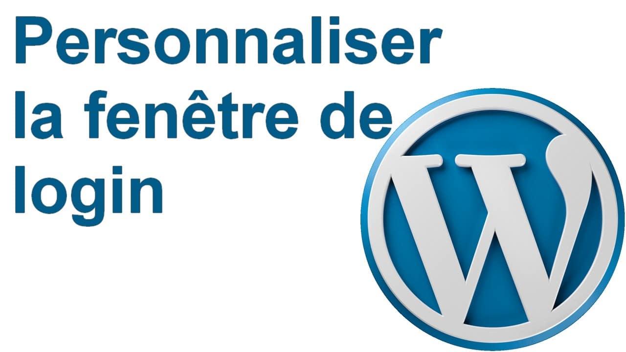 Comment personnaliser la fenêtre de connexion de Wordpress ? 8