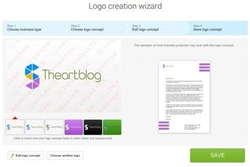 creer un logo sur ordinateur