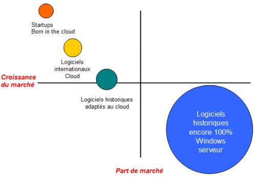 matrice BCG editeurs de logiciels de gestion