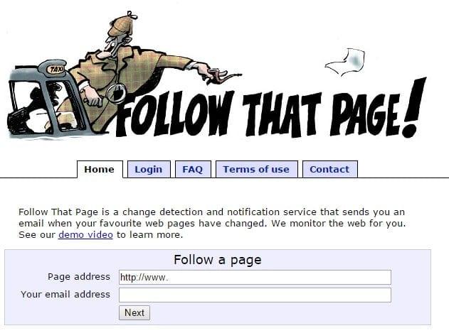 Comment être alerté d'un changement sur une Page Web ? 1